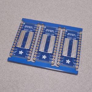 SOIC-28 or TSSOP-28 breakout board