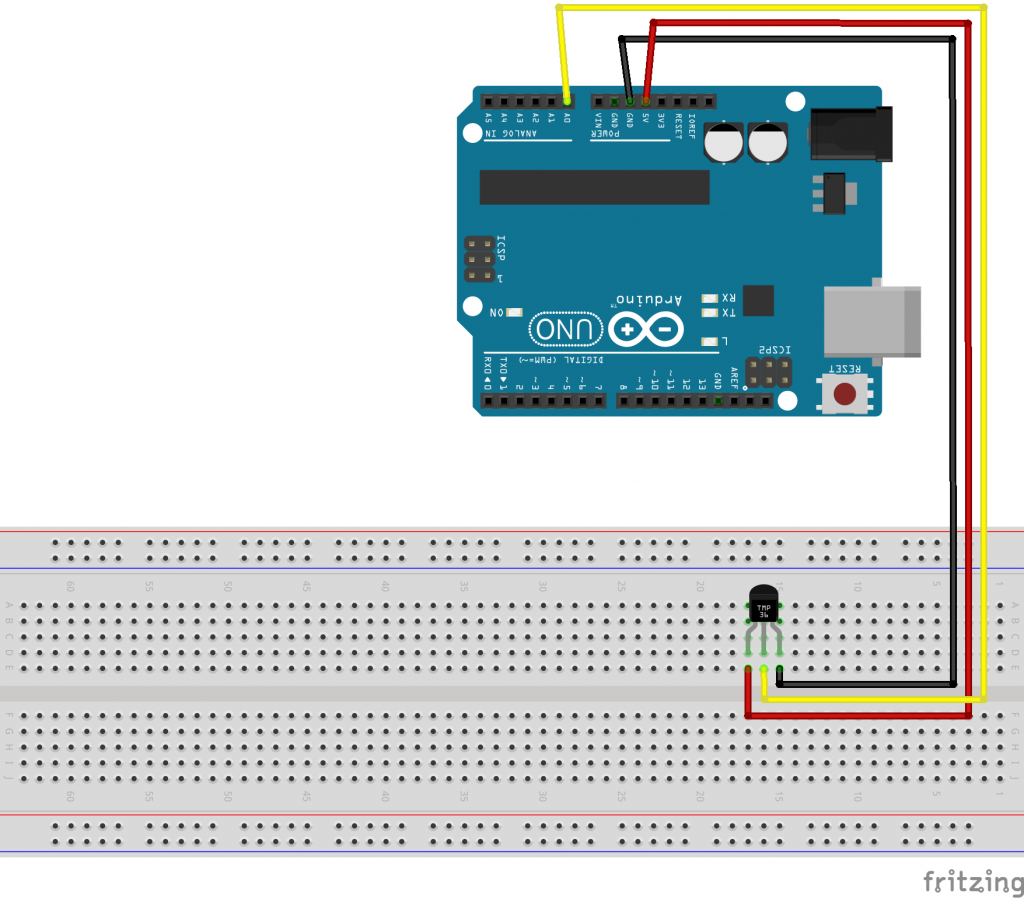 Using A Tmp36 Temperature Sensor With Arduino