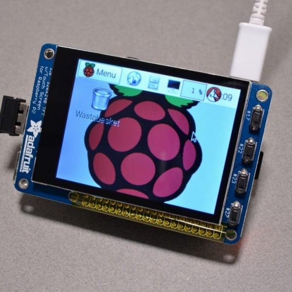 Adafruit Raspberry pi touchscreen