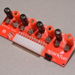 SparkFun Benchtop power breakout for ATX power supply