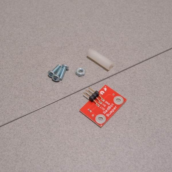 SparkFun RedBot Mechanical Bumper Sensor Breakout with parts